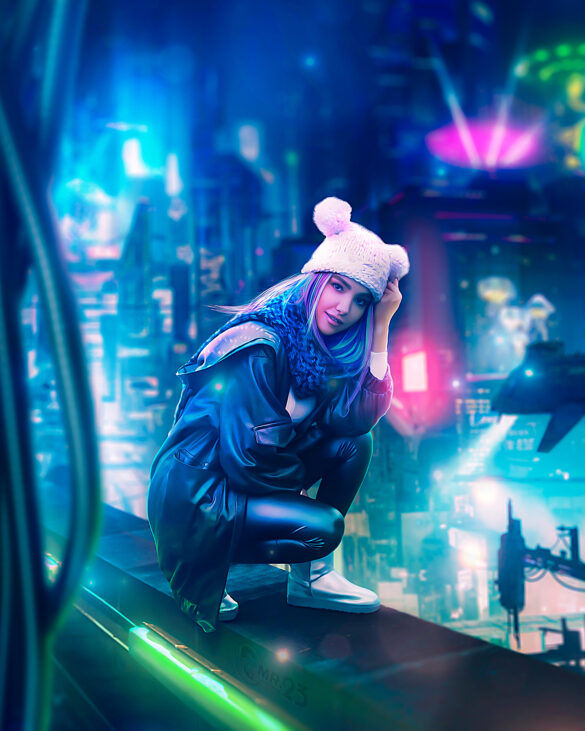 cyberpunk girl - mr23 photo manipulation