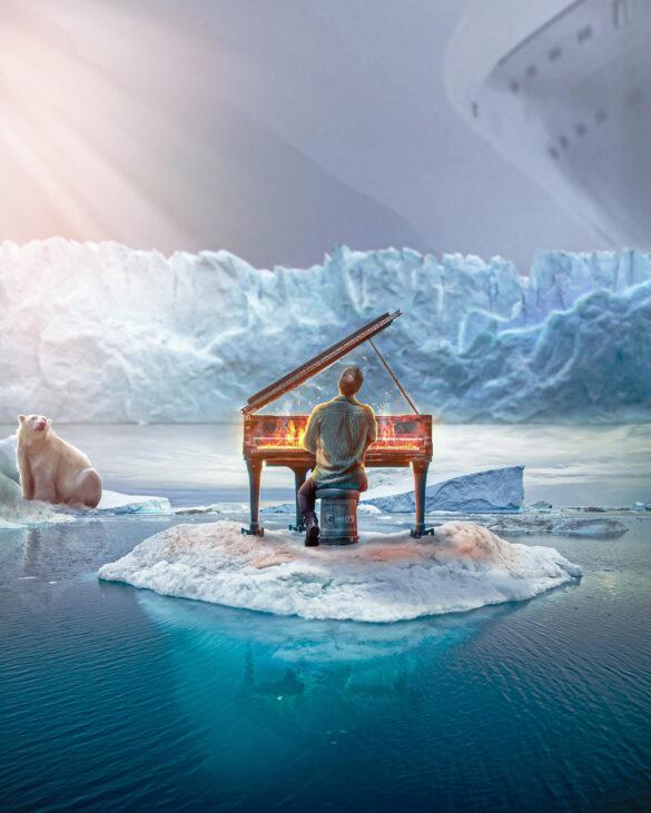 Global warming Photo Manipulation