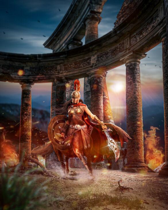 The Last Centaur - Photo Manipulation