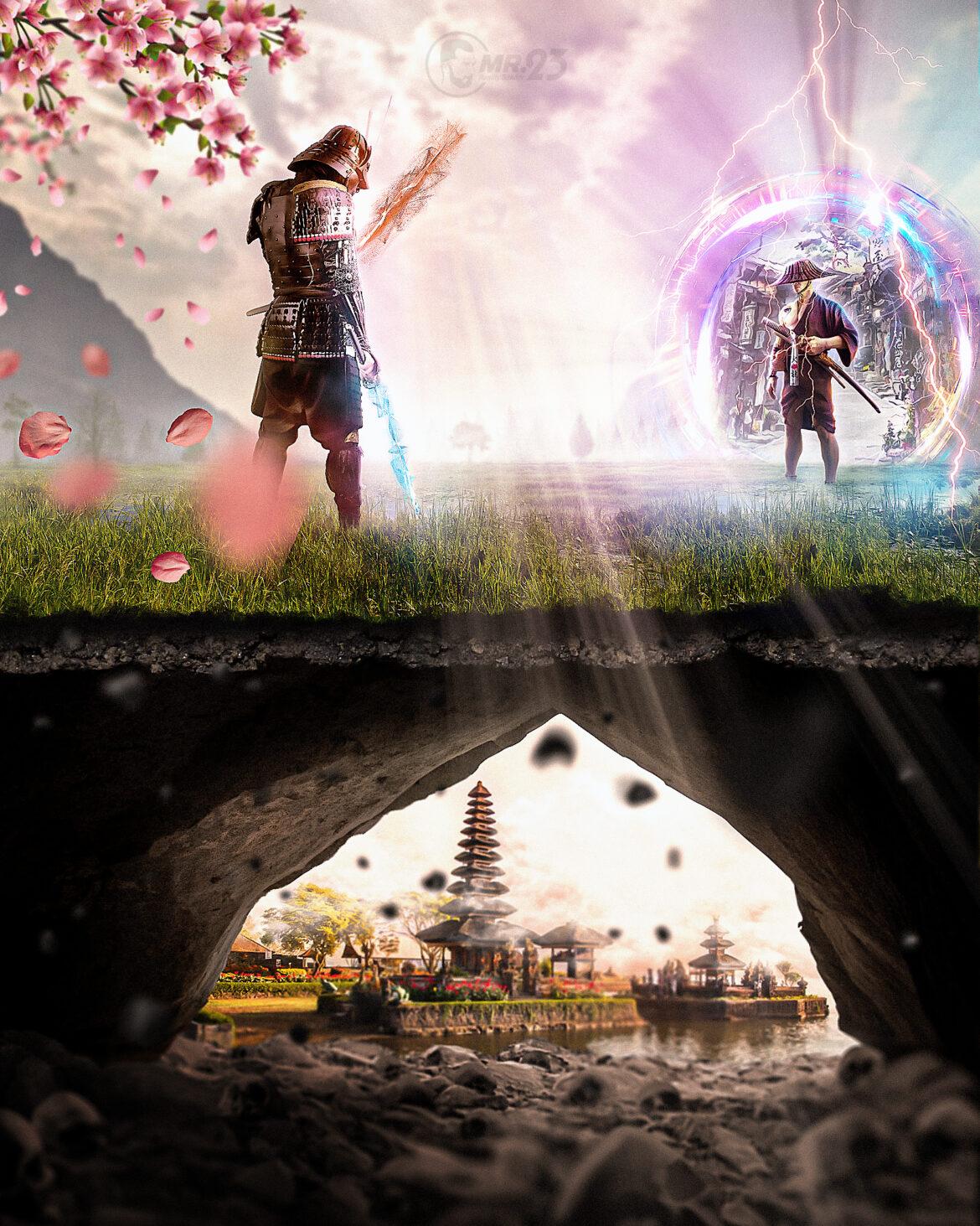 The Last Samurai - Photo Manipulation