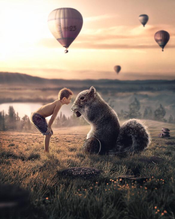 Squirrel World - Photo Manipulation
