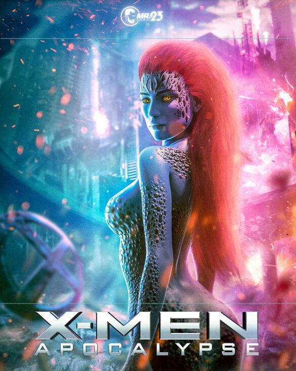Mistique - Xmen Poster